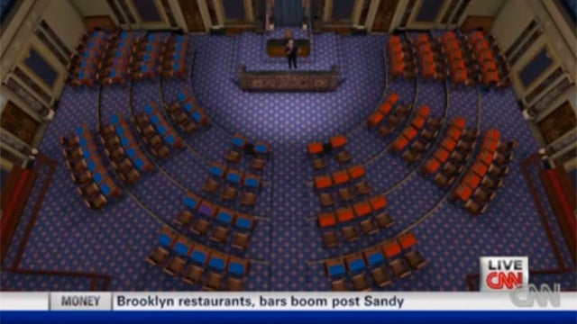 Take a Tour of CNN's New Virtual Senate