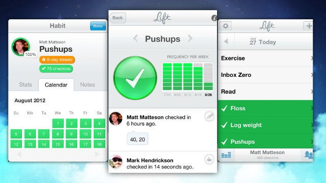 Lift Keeps You On Track, Helps You Master Seinfeld's Productivity Method