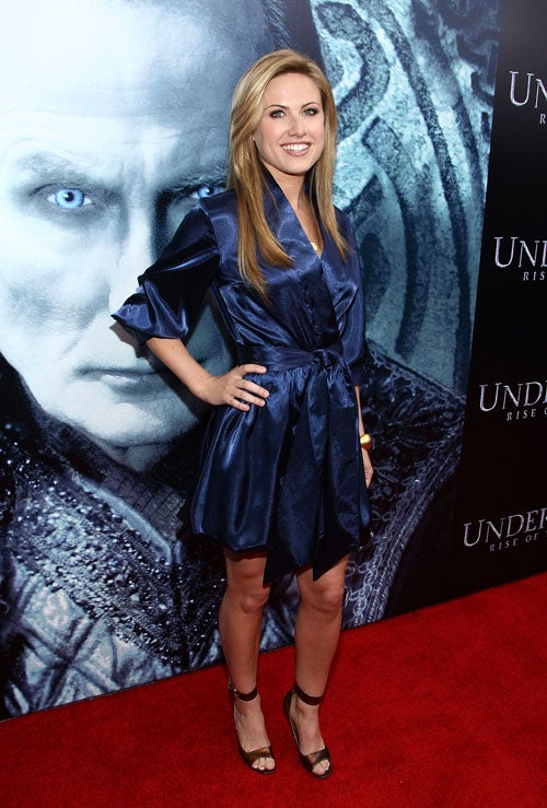 Seriously Underwhelming Fashions At Underworld Premiere