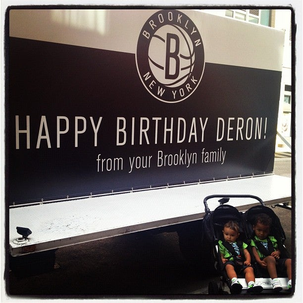 Nets Raise Their Offer To Deron Williams To A Birthday Party, Two Human Children
