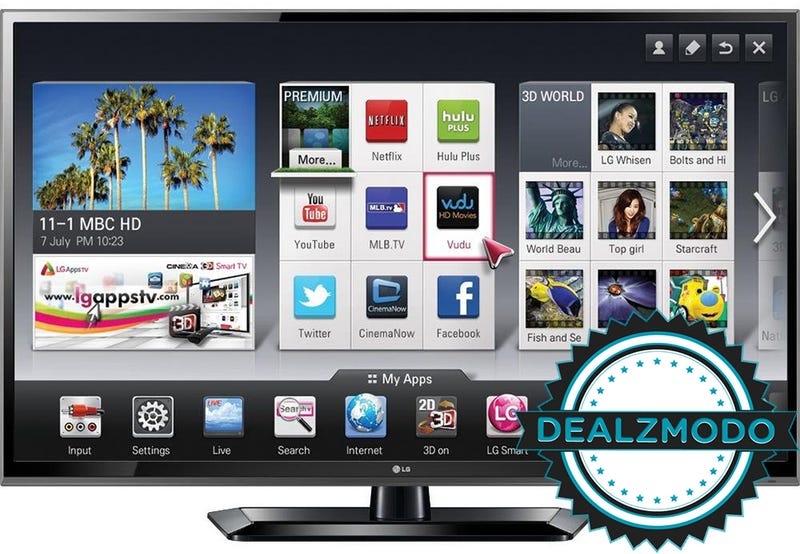 "Dealzmodo: 60"" Plasma, 40"" LED, Macbook Air, Chromebook, NOOK HD+"