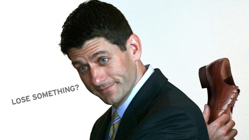 Drunkest D.C. Intern Ever Loses Shoe While Stalking Paul Ryan