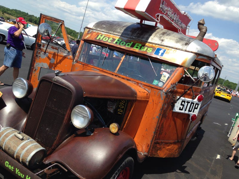 Road Tripping With A Different Crowd - Hot Rod Power Tour Day 1