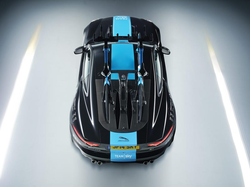 Jaguar Just Designed The Most Beautiful Way To Carry Two Bikes