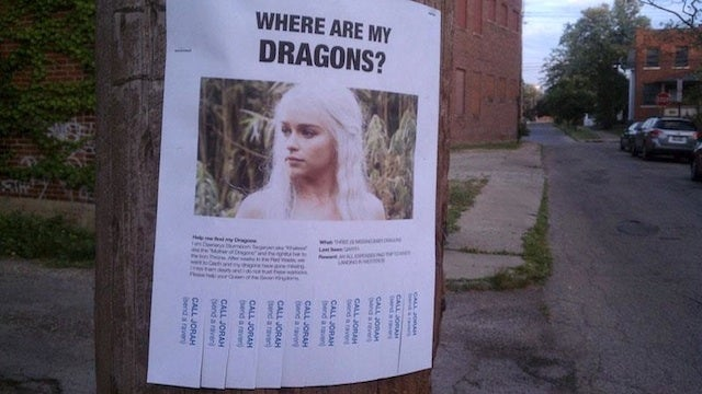 Daenerys Targaryen Takes to America's City Streets to Find Her Lost Dragons