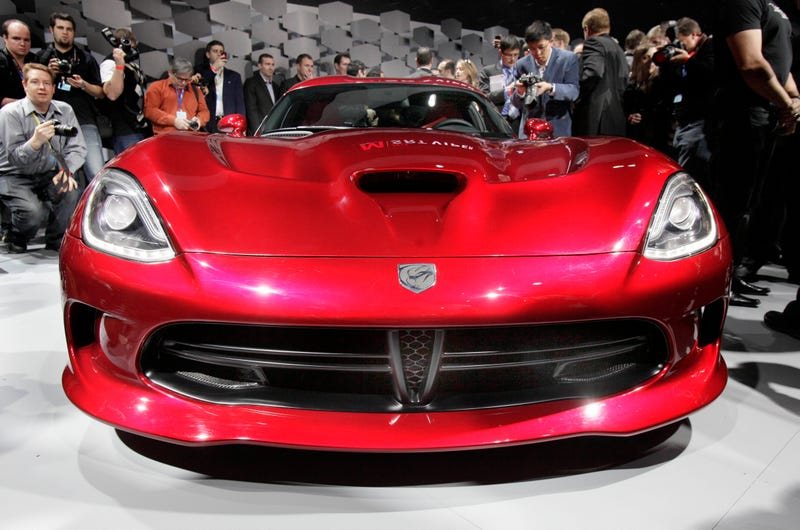Chrysler Is Slowing Viper Production Since You Won't Buy Them