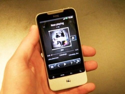 HTC Legend Hands On Gallery
