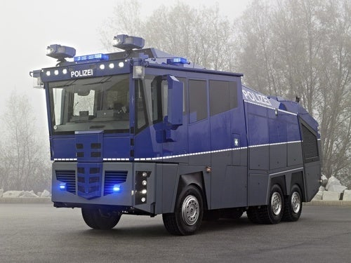 $1.3 Million Mercedes WaWe10: A Riot Cop's Wet Dream