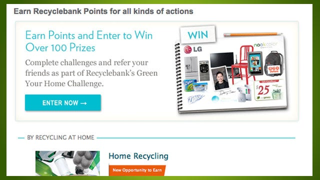 Recyclebank Takes Your Recyclables and Gives You Rewards