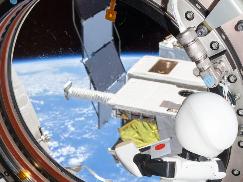 Cute Robot Sent To Keep Astronauts Company Makes First Speech In Space