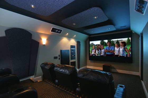 Home Theater Produces Waves of Massive, Throbbing...Silence