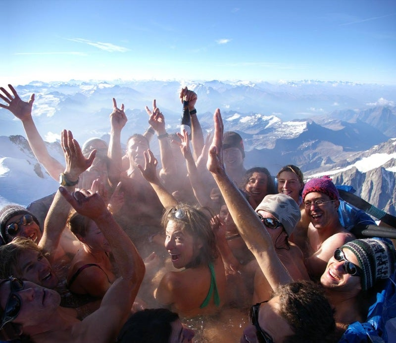 Mont Blanc Jacuzzi Party at 15,711 Feet Was Low on Oxygen, High on Booze