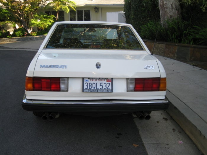 For $10,500, this quattroporte isn't that Quattroporte