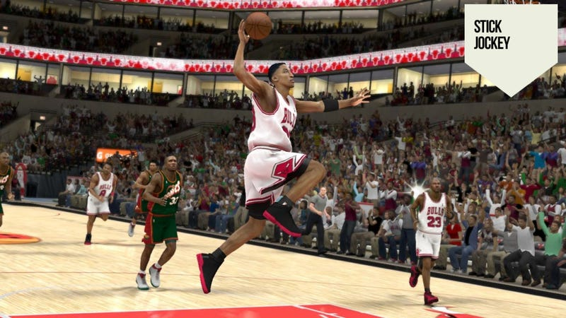 For the Longtime Sports Gamer, What's Not in the Game Counts More