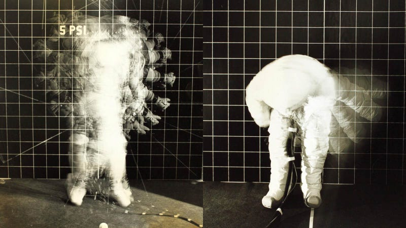 These Beautiful Artistic Photos of Space Suit Tests Were a Total Accident