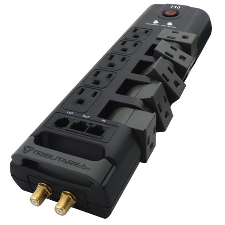 Tributaries Flexible Power Strip Bends 90 Degrees