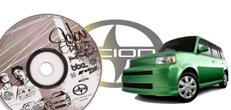 Do You Still Have Your Scion Mix CDs? Send Them All To Us