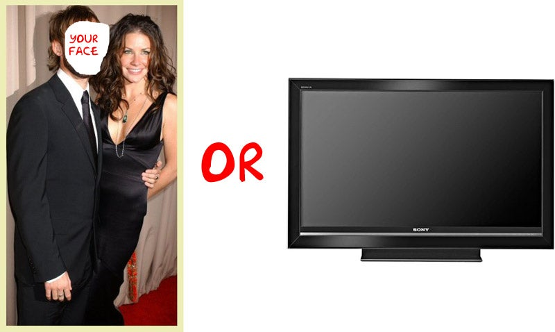 Gadget Or the Girl Reality Show Makes You Choose Between iPod or iPoon