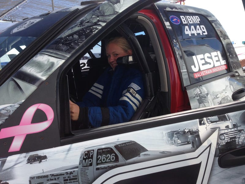 This 16-Year-Old Girl Will Try To Go 200 MPH In A Ram Pickup Truck
