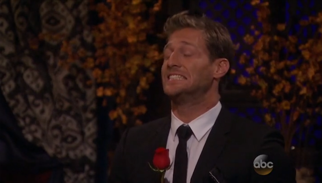 Wrong woman walks up for rose on The Bachelor