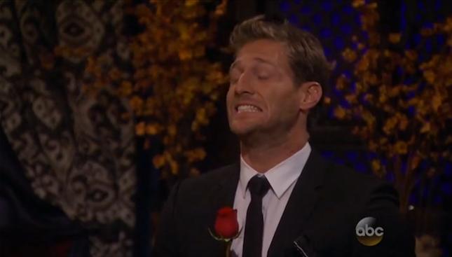 Wrong woman walks up for rose on The Bachelor