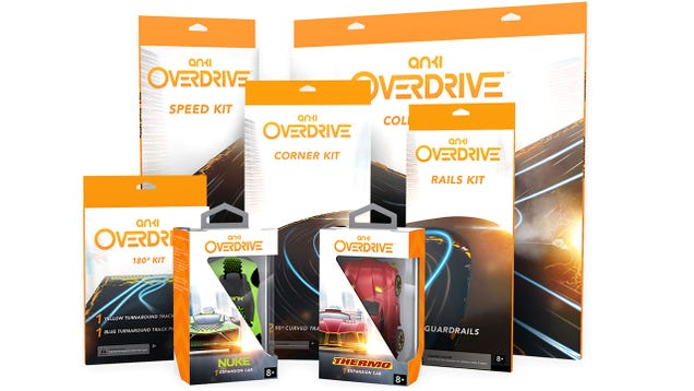 Anki's Officially Killed Slot Cars With Overdrive's Customizable Tracks