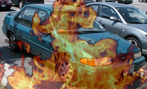 Oregon Arsonist Targeting Green Ford Escorts