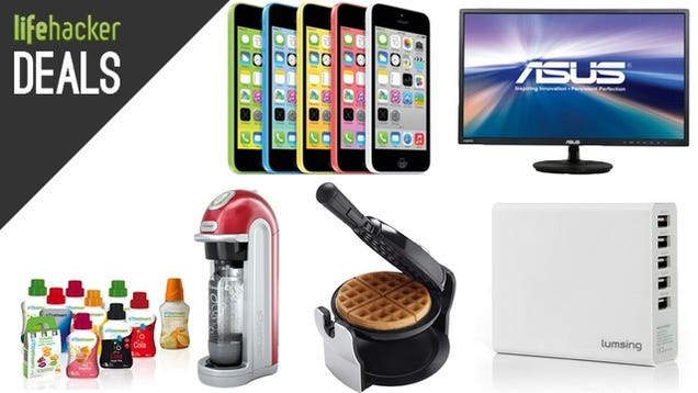 $50 SodaStream, DIY Waffles, iPhone 5c, Philips Wake-Up Light