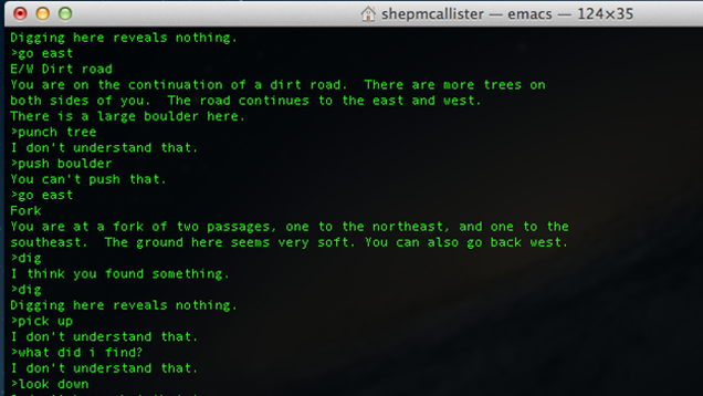 Discover The Text Based Adventure Game Built Into Your Mac