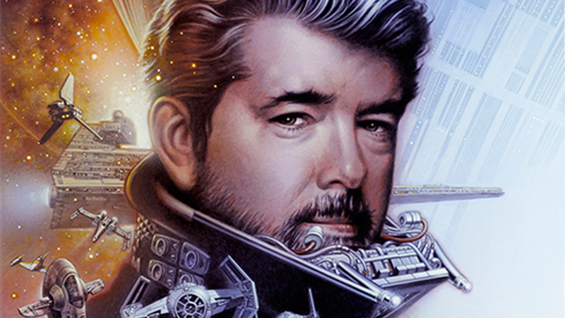George Lucas is Darth Vader and more, in Celebration Europe's Art Show