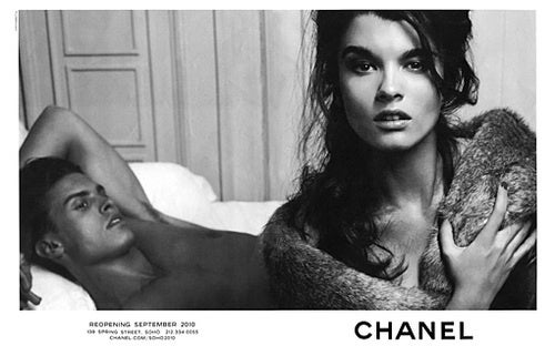 Crystal Renn Does An Ad For Chanel