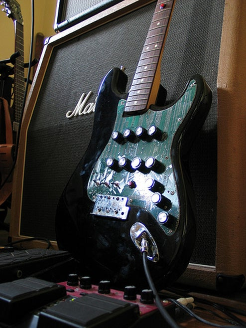 Fender Bender is the RoboCop of Electric Guitars