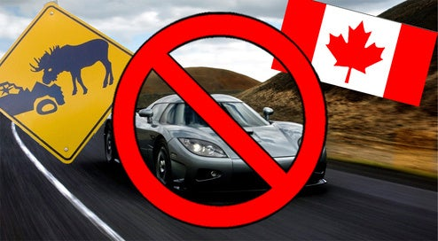 Rural Canadian Wins Koenigsegg CCX, Has No Road To Drive It On