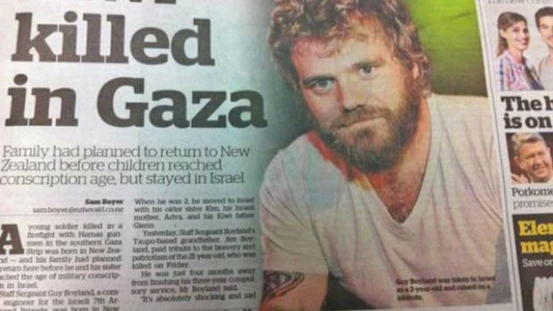 Newspaper Prints Photo of Ryan Dunn Instead of Dead Israeli Soldier
