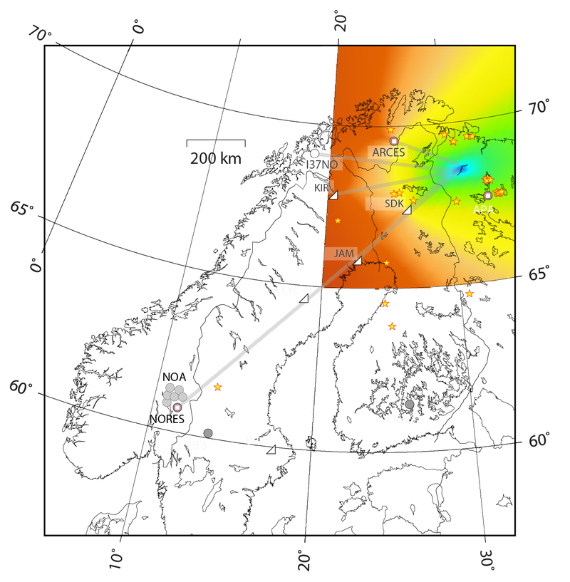 Atmospheric Signal of the Russian Fireball