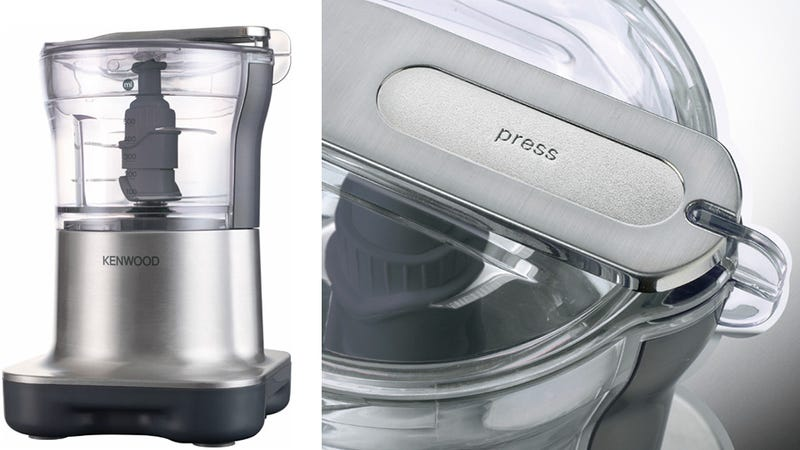 The Harder You Press, the Faster This Food Processor Chops