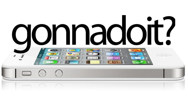 Are You Buying An iPhone 4S Today?