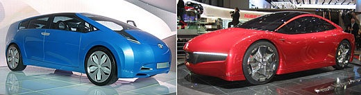 Hybrid Concepts From Toyota and Honda Roll Out at Geneva Auto Show