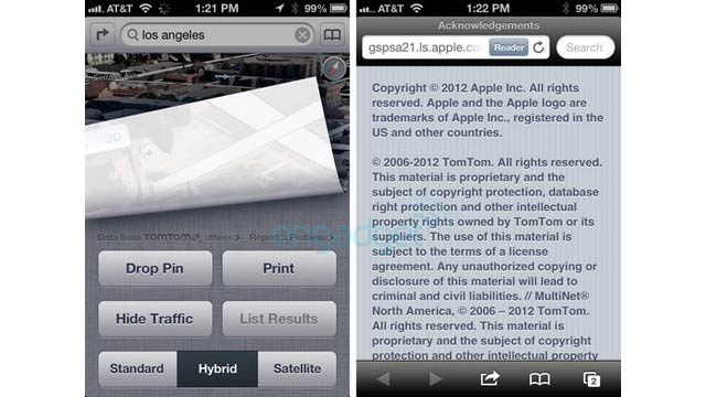 Apple's New iOS 6 Maps Are Powered by TomTom