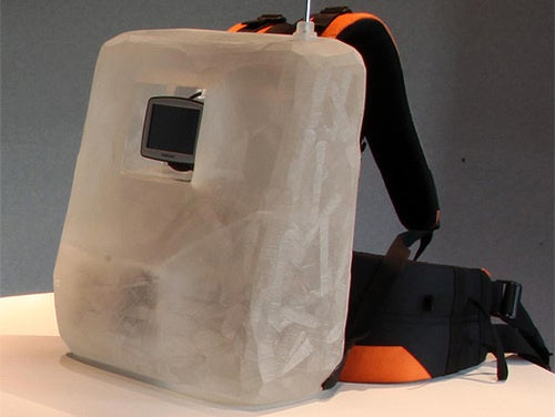 Al Gore GPS Backpack Looks Like a C4 Bomb