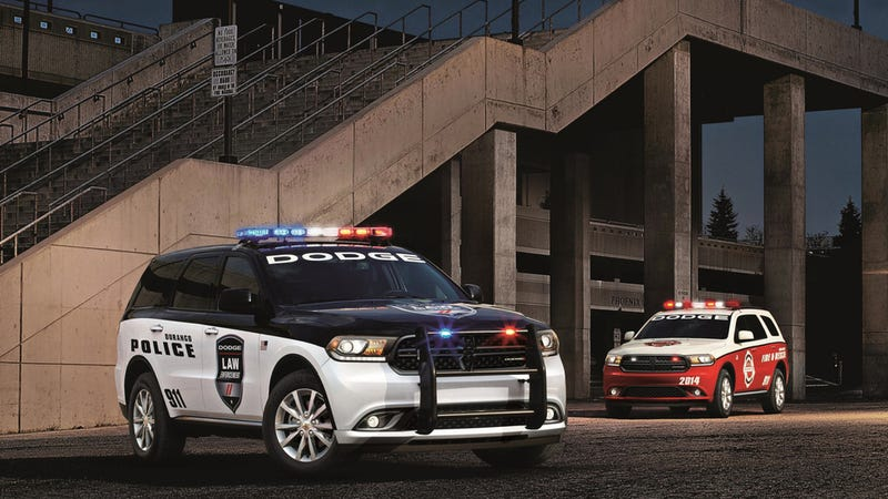 The New Dodge Durango Is Also A Police Vehicle