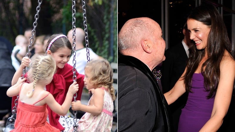 Did Katie Holmes and Suri Cruise Switch Bodies at a Party Last Night?