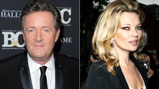 Utterly Horrible, Vile Creature Piers Morgan Calls Kate Moss An 'Utterly Horrible, Vile Creature'