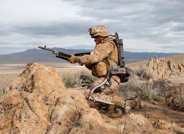 Lockheed Martin HULC Exo-Skeleton Prepares to Smash Human Beta Tests