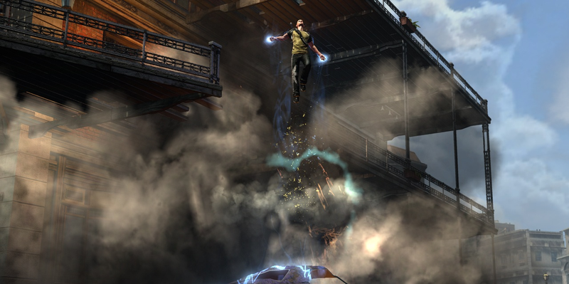 Last-Gen Heroes: Infamous 2 : The Platformer is Dead! Long Live the Platformer!
