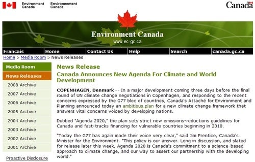 Incredibly Wonky Pranksters Pretend Canada Cares About Climate