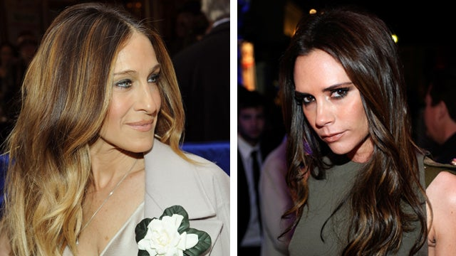 The Internet Has Decided that Sarah Jessica Parker and Victoria Beckham Are Secretly Working on a Clothing Line