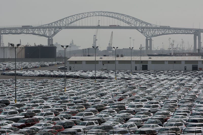 Where Are Automakers Stashing Unsold Cars?