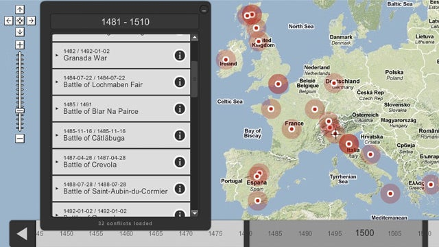 An Interactive Map With Every War Ever Waged