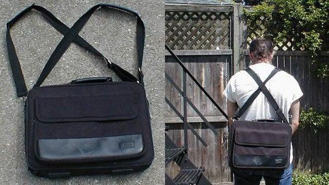 Turn a Laptop Shoulder Bag into a Backpack
